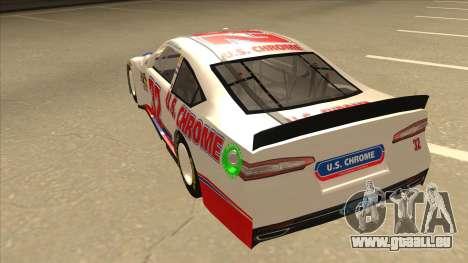 Ford Fusion NASCAR No. 32 U.S. Chrome pour GTA San Andreas vue arrière