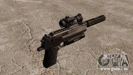 Desert Eagle Pistole (Taktische) für GTA 4 Sekunden Bildschirm