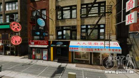 Magasins de Chinatown pour GTA 4
