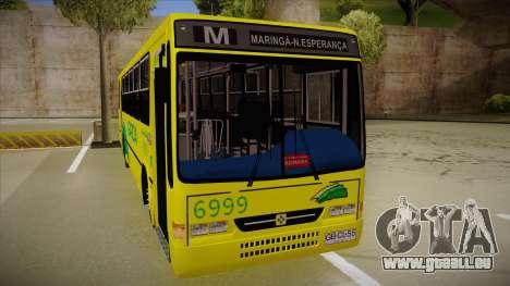 Busscar Urbanus SS Volvo B10 M garcia pour GTA San Andreas laissé vue