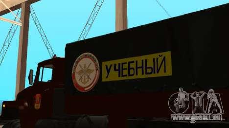Lastwagenfahrschule v. 2.0 für GTA San Andreas obere Ansicht