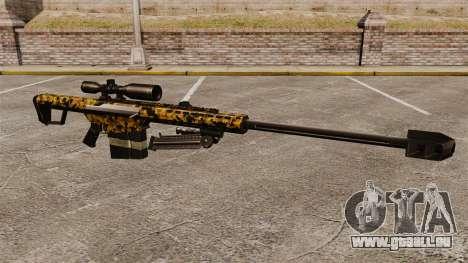 Le v12 de fusil de sniper Barrett M82 pour GTA 4