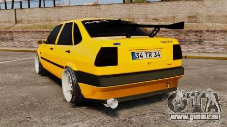 Fiat Tempra TR KeremAkca Edit für GTA 4 hinten links Ansicht