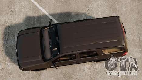 Chevrolet Tahoe Slicktop [ELS] v2 pour GTA 4 est un droit