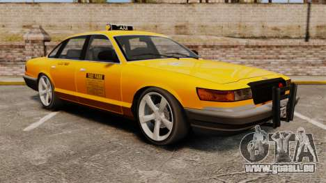 Taxi nouveau CDs pour GTA 4