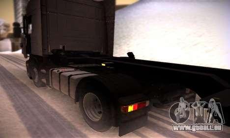 Scania R500 Topline pour GTA San Andreas vue arrière