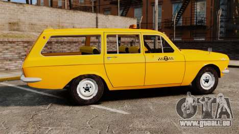 GAZ-24-02 Volga Taxi für GTA 4 linke Ansicht