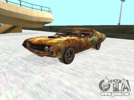 Ford Torino Rusty pour GTA San Andreas