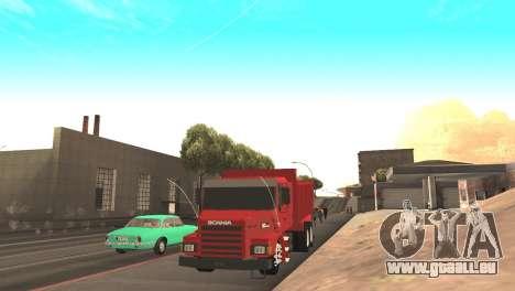 Scania 112HW pour GTA San Andreas vue de droite