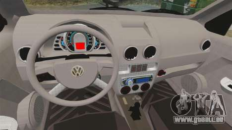 Volkswagen Gol G4 BBS pour GTA 4 est une vue de l'intérieur
