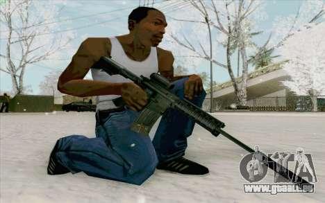 Die M4a1 für GTA San Andreas dritten Screenshot