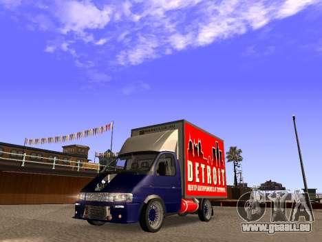 2310 Rotmarderhaar GAS LT für GTA San Andreas