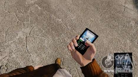 Thèmes pour les réseaux mobiles de marques télép pour GTA 4 secondes d'écran