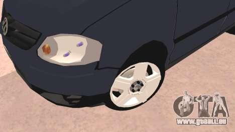 Volkswagen Suran für GTA San Andreas zurück linke Ansicht