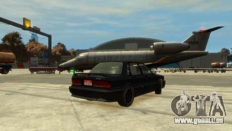 Mitsubishi Galant für GTA 4 hinten links Ansicht