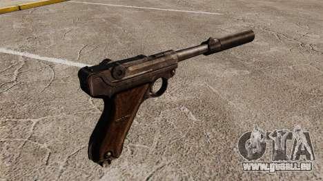 Pistolet Parabellum v2 pour GTA 4 secondes d'écran