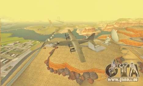 Hercules GTA V pour GTA San Andreas vue intérieure