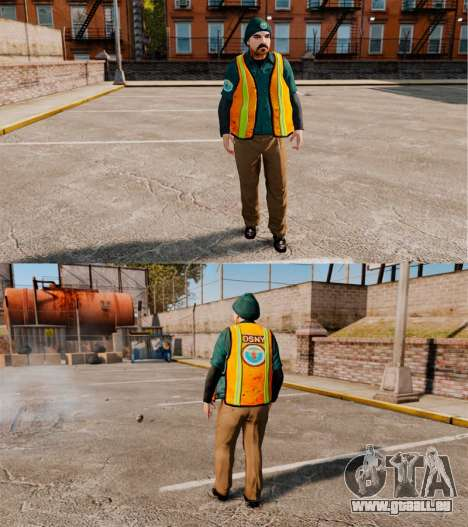 Service New York City für GTA 4