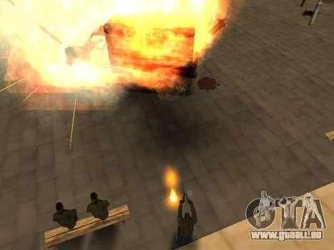 WeaponStyles pour GTA San Andreas huitième écran