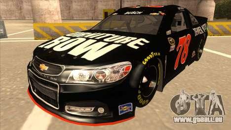 Chevrolet SS NASCAR No. 78 Furniture Row pour GTA San Andreas