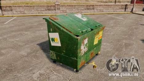 Bennes à ordures, Waste Management Inc. pour GTA 4 troisième écran