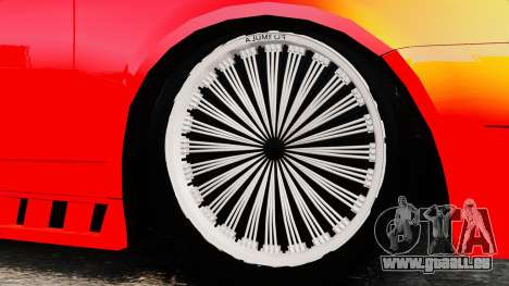 Lada Priora Cuba pour GTA 4 Vue arrière
