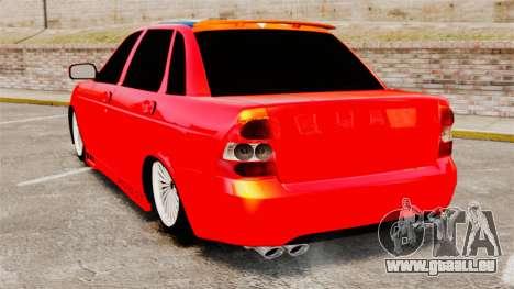 Lada Priora Cuba pour GTA 4 Vue arrière de la gauche