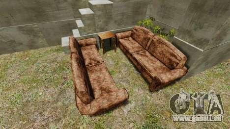 Château pour GTA 4 troisième écran