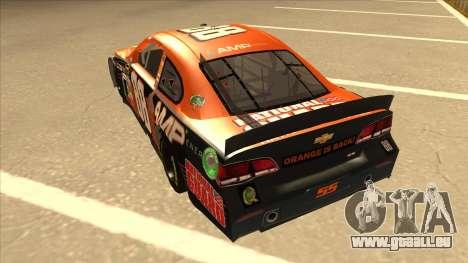 Chevrolet SS NASCAR No. 88 Amp Energy pour GTA San Andreas vue arrière