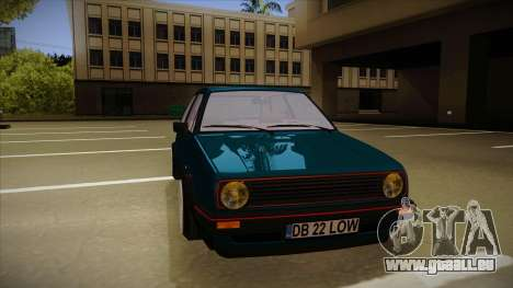 Volkswagen Golf MK2 Stance Nation by Razvan11 pour GTA San Andreas laissé vue