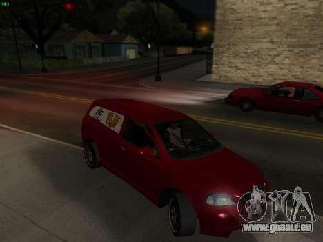Opel Astra G Caravan Tuning für GTA San Andreas rechten Ansicht