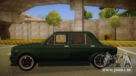 Fiat 128 Europe V Tuned für GTA San Andreas zurück linke Ansicht