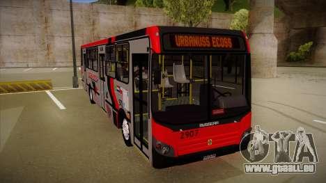 Busscar Urbanuss Ecoss MB OF 1722 M Busmania pour GTA San Andreas laissé vue