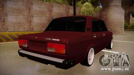 Lada 2107 für GTA San Andreas rechten Ansicht
