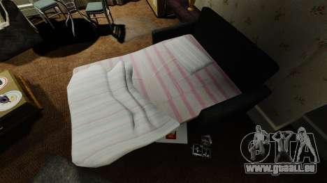 Nouveau canapé dans le deuxième appartement pour GTA 4