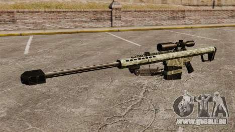 Le v6 de fusil de sniper Barrett M82 pour GTA 4 troisième écran
