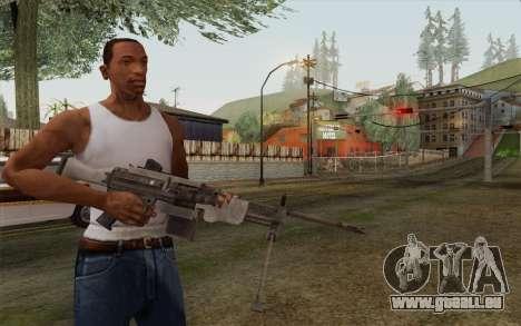 Militärische Waffe für GTA San Andreas