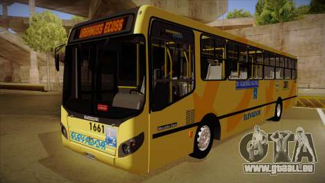 Busscar Urbanuss Ecoss MB OF 1722 M BHBUS pour GTA San Andreas