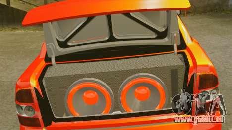 Lada Priora Cuba pour GTA 4 est un côté