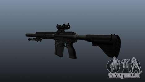 HK417 Gewehr v1 für GTA 4 Sekunden Bildschirm