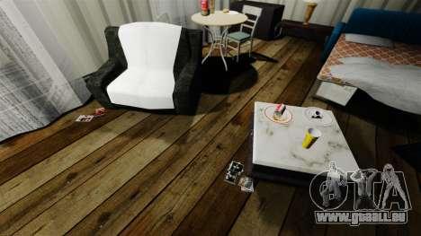 Élégant appartement Bokhan pour GTA 4 troisième écran