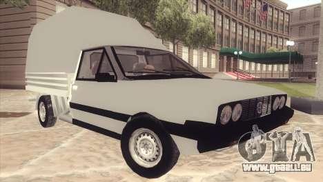 FSO Polonez Mr89 Truck für GTA San Andreas