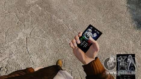 Thèmes pour les réseaux mobiles de marques télép pour GTA 4 troisième écran