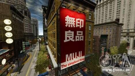 Magasins de Chinatown pour GTA 4 septième écran