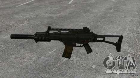 HK G36C assault rifle v2 pour GTA 4 troisième écran