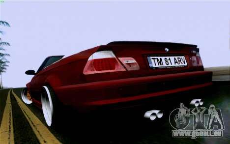 BMW M3 Cabrio für GTA San Andreas linke Ansicht
