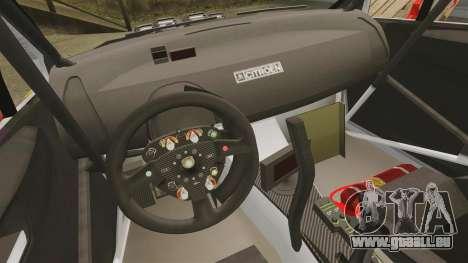 Citroen C4 WRC für GTA 4 Rückansicht
