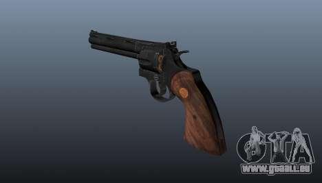 Revolver Colt Python 357 für GTA 4 Sekunden Bildschirm