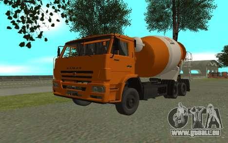 KAMAZ 6520 ciment pour GTA San Andreas