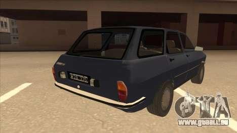 Renault 12 Break für GTA San Andreas rechten Ansicht
